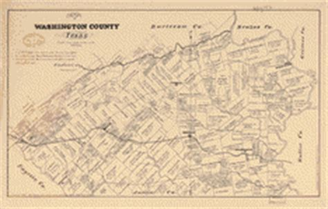 map of washington county texas map of washington county texas library of congress