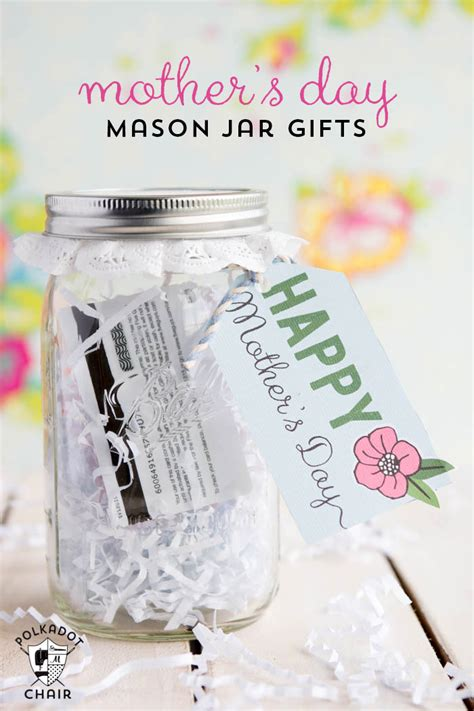 Sweet Gifts To Make For Mothers Day by Last Minute S Day Gift Ideas Jar Gifts