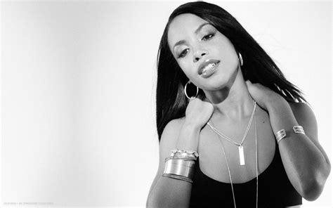 aaliyah singer hd widescreen wallpaper female singers