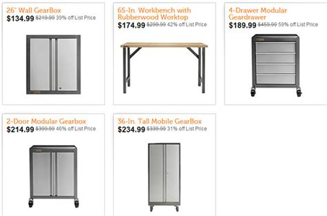 Garage Organization Black Friday Black Friday Garage Cabinet Deals Centerfordemocracy Org