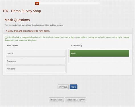 limesurvey mobile limesurvey template tfr responsive limesurvey consulting