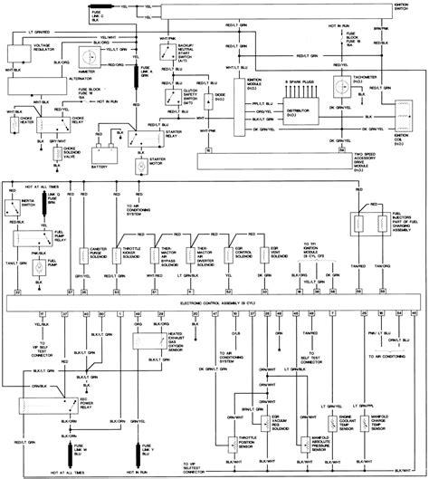 wiring diagram mustangforumscom