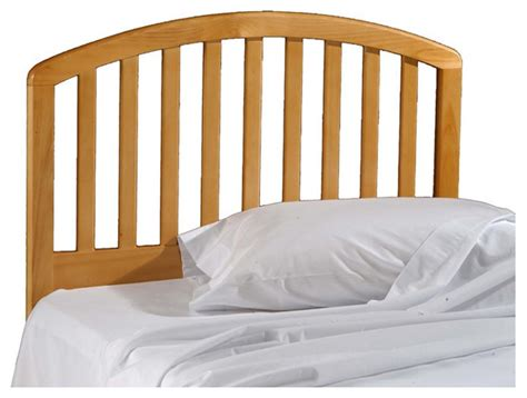 pine wood headboard twin size arch slat headboard country pine wood finish