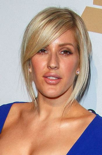 Ellie Goulding Hairstyle by Hairstyles Ellie Goulding Casual Updo Sophisticated