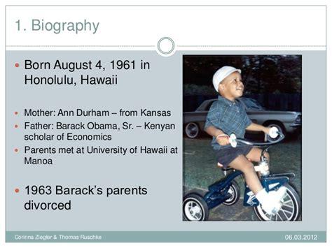 simple biography barack obama personal profile barack obama