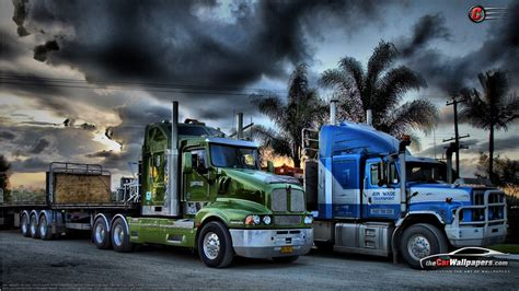 kenworth trailers kenworth trucks semi trailer everyday life pinterest