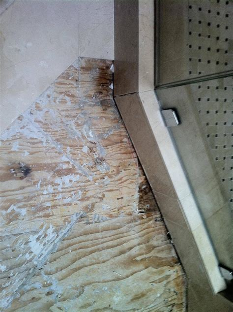 tiling   can you glue tile to plywood?   Home Improvement