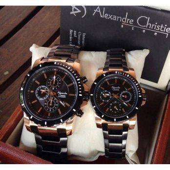 Jam Tangan Cauple Alexandre Christie Ac6473 Original Stainlis 2 harga alexandre christie 6141 jam tangan stainless steel silver black pricenia