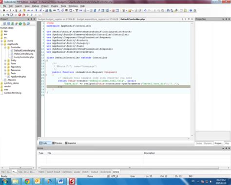 xml twig tutorial codelobster php tutorial for rapid building of framework