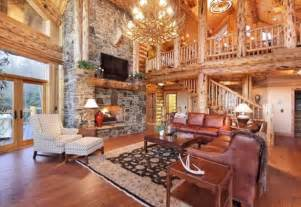 living room log cabin home is where i m at with you