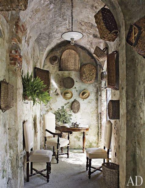 Toscana Home Interiors historic stone manor in tuscany decoholic