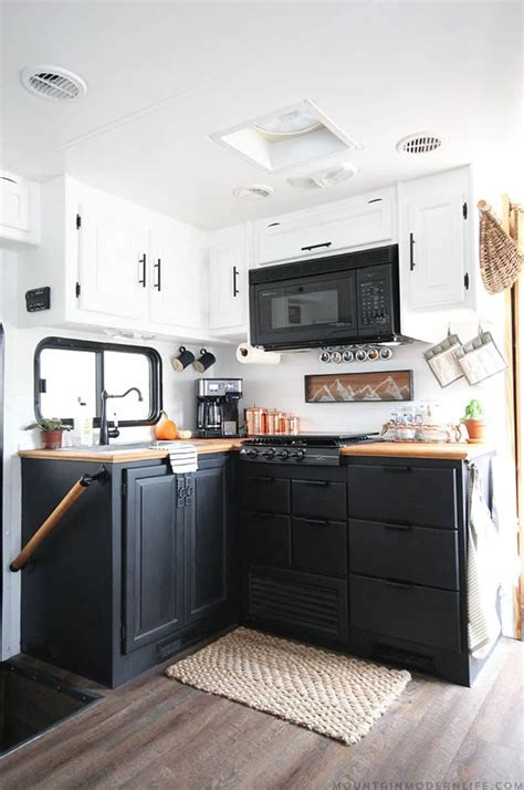 Motorhome Cupboards - tiny kitchen remodel the reveal of our rv kitchen renovation