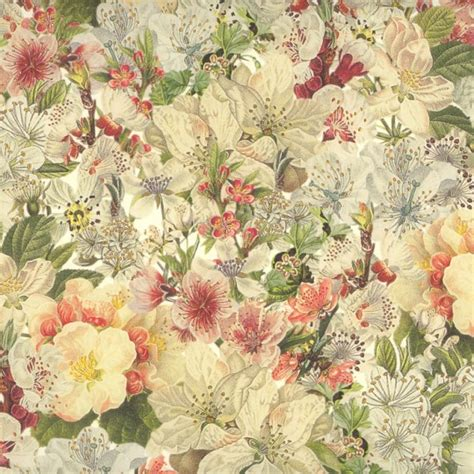 Italian Decoupage Paper - springtime flowers print italian paper leonardo