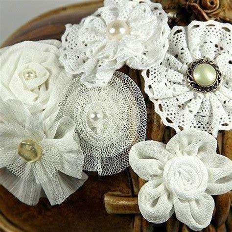 Decoration Florale Avec Ruban Satin by Prima Flowers Madrigal Blossom White Librett Silk