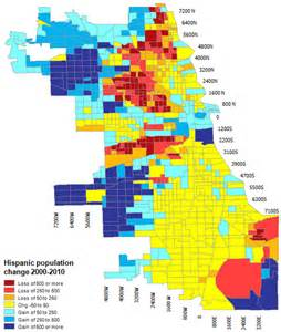 Racial Map Of Chicago by Straight Dope Chicago Where Everybody Went