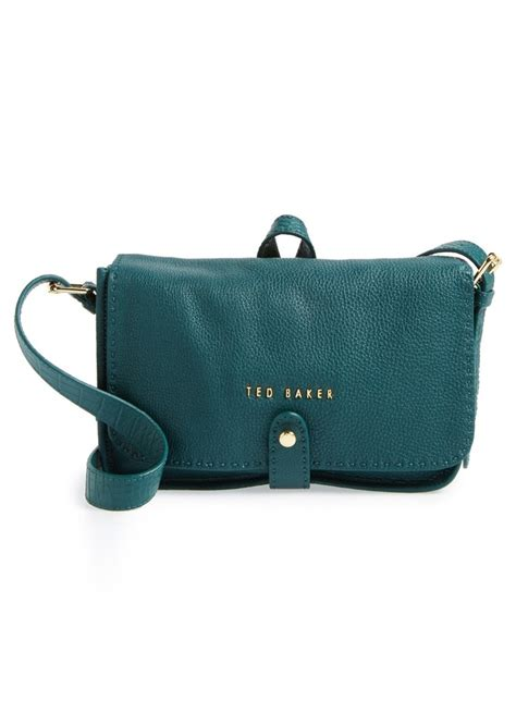 ted baker ted baker london leather crossbody bag