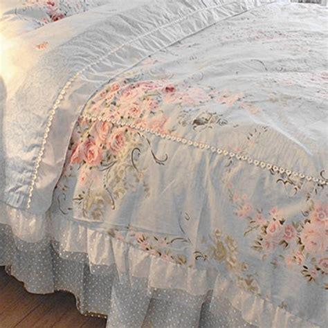 blue rose bedding set