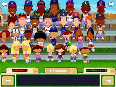 viva la vita backyard baseball 2001 draft