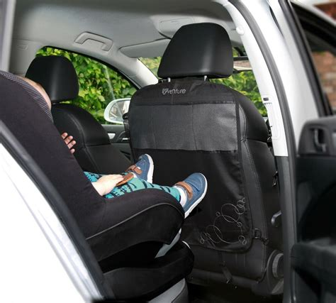 car kick mats uk new venture deluxe kick mats 2 pack car seat back