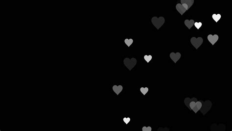 animated  moving small pink purple white hearts