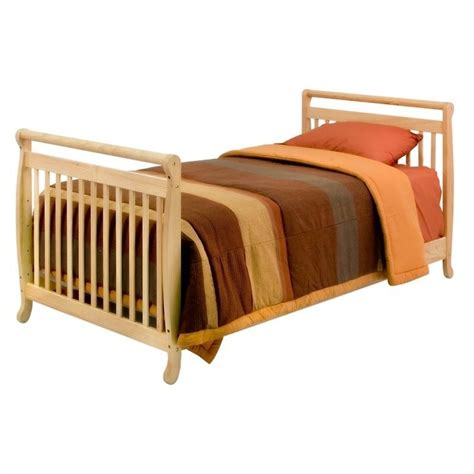 twin bed with rails davinci emily mini 2 in 1 convertible crib with twin bed