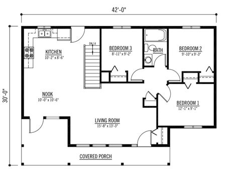 most efficient floor plans most efficient floor plan small kitchen floor plans 17
