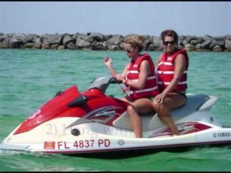 ski boat rental destin fl destin florida boat rentals pontoon rentals and jet ski