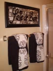 towels bathroom towel love the idea of puttin french words around the house salle de bain