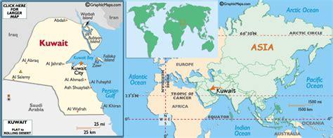kuwait map in world cartamoneta dal mondo f lli pettinaro kuwait