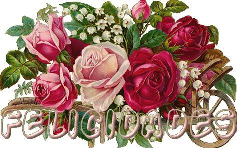 imagenes de rosas de cumpleaños flores con bonitos mensajes de cumplea 241 os ツ imagenes