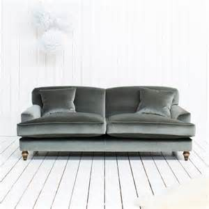 grey velvet sofa clio grey velvet sofa for the home