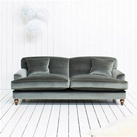 gray velvet sofa clio grey velvet sofa for the home pinterest