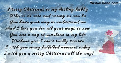 merry christmas   darling hubby christmas message