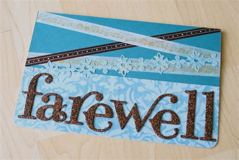 Handmade Farewell Cards For Seniors - why washi will change your crafting