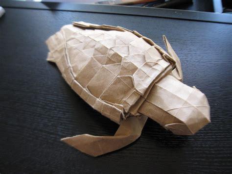 Sea Turtle Origami - origami loggerhead sea turtle by 50an6xy06r6n on deviantart