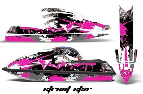 Kawasaki 750sx Jet Ski Graphic Wrap Decal Kit 1992 1998 Kawi Sxr750 Jet Ski Wrap Templates