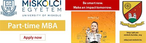 Of Miskolc Mba by Education Faculty Of Economics