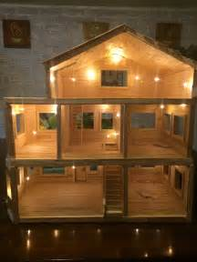 hamster doll house dollhouse made entirely from popsicle sticks dollhouse pinterest docksk 229 p