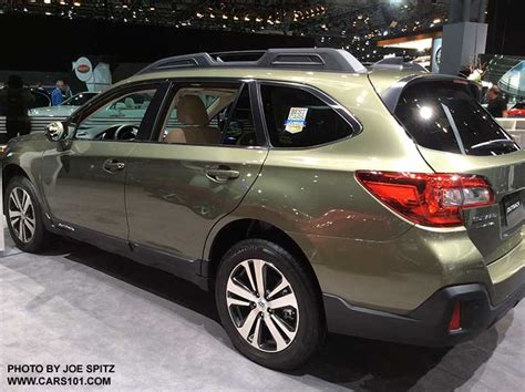 2018 Subaru Outback Early Info And Photos From The