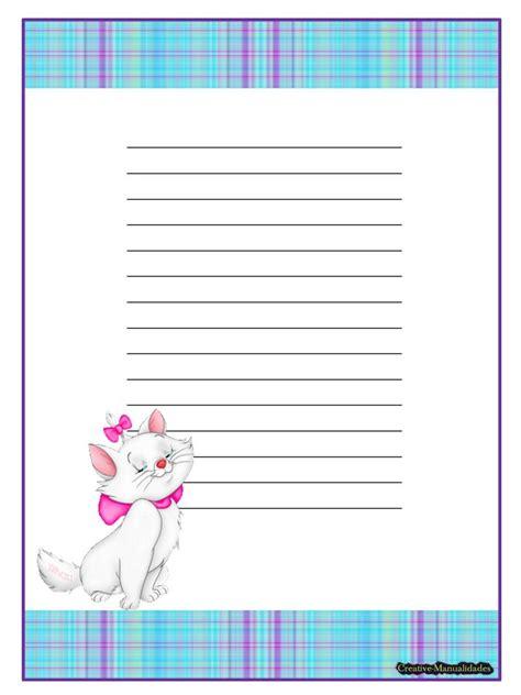 hojas para escribir cartas hojas decoradas para escribir una carta imagui