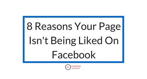 8 Reasons Not To Hit Your by 8 Reasons Your Page Isn T Being Liked On