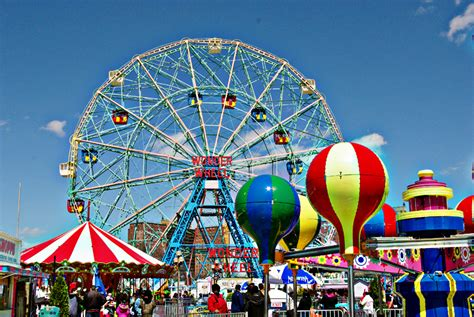 hd theme park wallpaper coney island images pic hd wallpaper and background photos