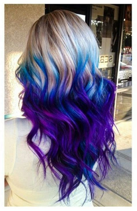 20 purple ombre hair color ideas thick hairstyles blue purple hair color best hair color 2017