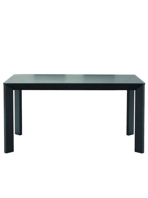 black wood dining table modern furniture brickell