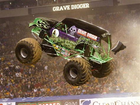 monster truck show los angeles driver of monster truck grave digger recovering from