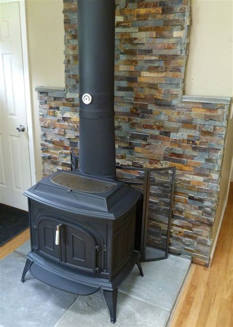 backsplash stove surround for small 1000 ideas about wood stove surround on wood burner stove fireplace and wood