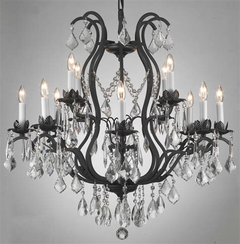 Iron And Chandelier Chandelier Astounding Wrought Iron Chandeliers Antique