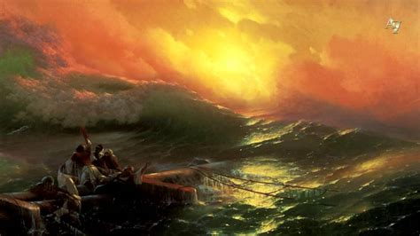 pics for gt ivan aivazovsky the ninth wave ivan aivazovsky the ninth wave 3d animation youtube