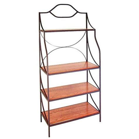 Bakers Rack Wood by Bakers Racks 36 W Bakers Racks W Wood Shelves From The Grace Collection
