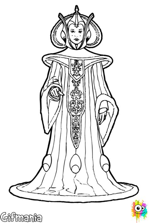 star wars queen amidala coloring page coloring page of queen amidala